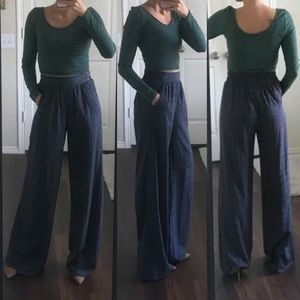NWOT BCBGeneration ultra high waist palazzo pants
